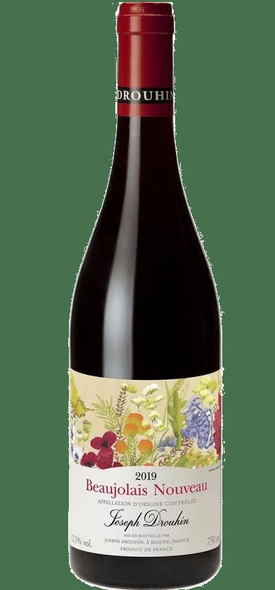 2019 Beaujolais Nouveau Wine Bottle