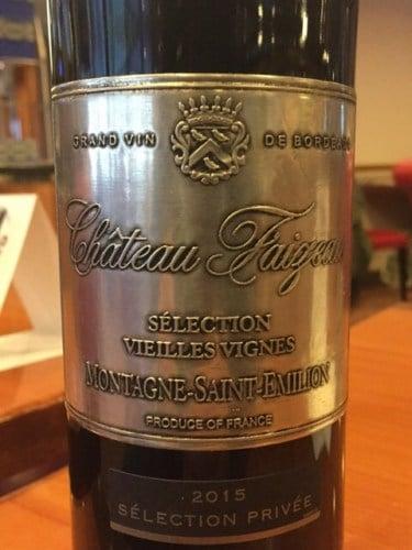 Montagne Saint Émilion Wine Label