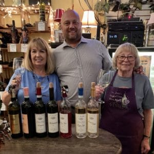 Management at Ellens Wine Room Sanford Florida